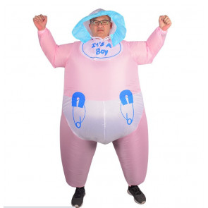 Inflatable Giant Baby Costume