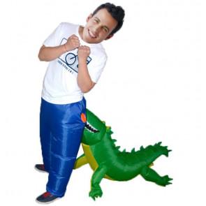 Inflatable Crocodile Costume