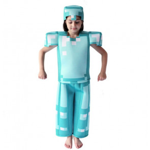 Deluxe Minecraft Armor Kid's Costume