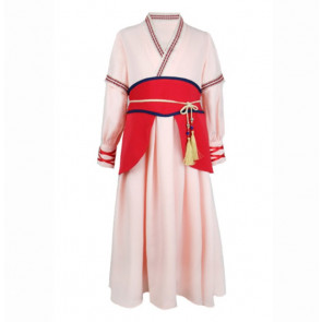 Girls Mulan Costume