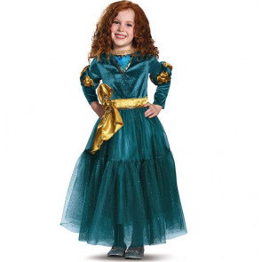 Girls Merida Brave Costume