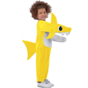 Toddler Baby Shark  Costume - Yellow