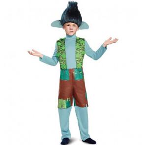Trolls Branch Deluxe Trolls Boys Costume