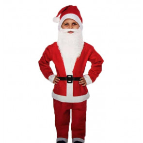 Boys Santa Claus Costume Outfit