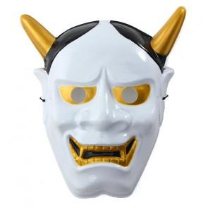 Japanese Hannya Omen Mask White