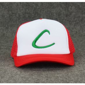 Ash Ketchum Hat Pokemon Go Trainer Cap Hat