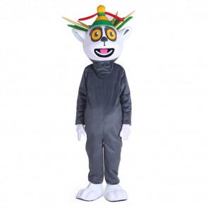 Giant Madagascar King Julian Mascot Costume