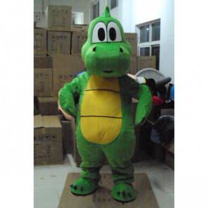 Giant Green Dragon Mascot Costume