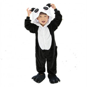 Kids Panda Onesie Jumpsuit Costume