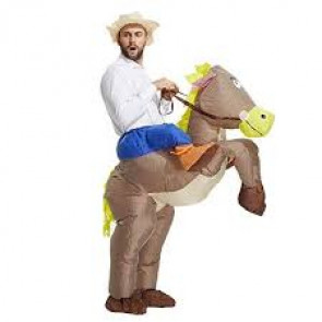 Bullseye Horse Inflatable Costume
