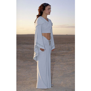 Padme Amidala White Dress Costume