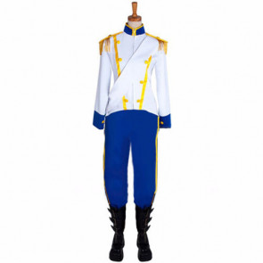 Disney The Little Mermaid Prince Eric Cosplay Costume For Adults Halloween Costume