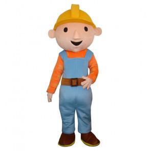 Giant Bob the Builder Mascot Costume