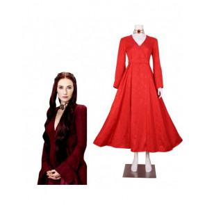 Game of Thrones Red Queen Melisandre Complete Cosplay Costume