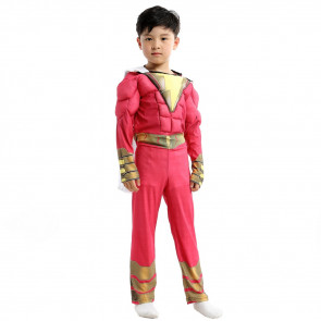 Boys Shazam Costume Cosplay