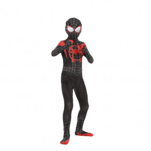 Boys Spider-Verse Miles Morales Spider-Man Cosplay Costume
