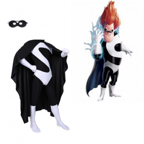 Boys Incredibles Syndrome Cosplay Costume