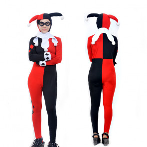 Comic Book Harley Quinn Complete Cosplay Costume