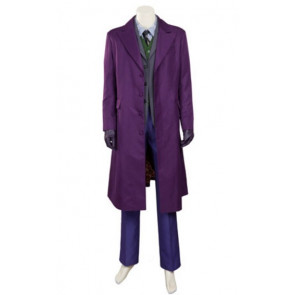 Dark Knight Joker Official Complete Cosplay Costume