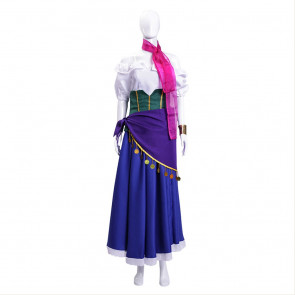 The Hunchback of Notre Esmeralda Cosplay Costume