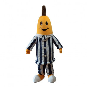 Giant Banana Pajama Mascot Costume