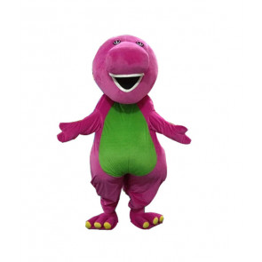 Giant Barney Mascot Costume