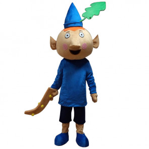 Giant Ben and Holly Mascot Costume - Ben