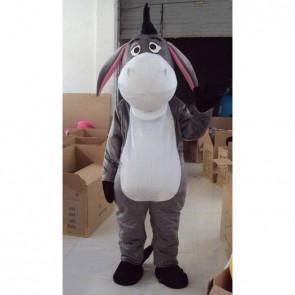 Giant Grey Donkey Mascot Costume