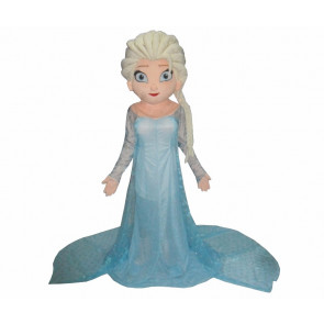 Giant Elsa Frozen Mascot Costume