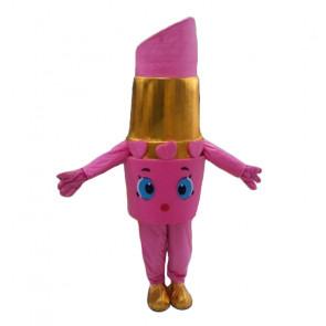 Giant Lipstick Mascot Costume