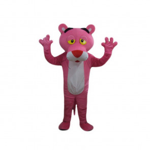 Giant Pink Panther Mascot Costume
