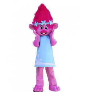 Giant Poppy Trolls Mascot Costume