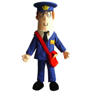 Giant Postman Pat Mascot Costume