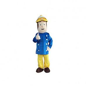 Giant Fireman Sam Mascot Costume
