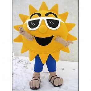 Giant Sun Flower Mascot Costume