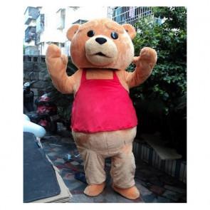 Giant Ted Bear Mascot Costume