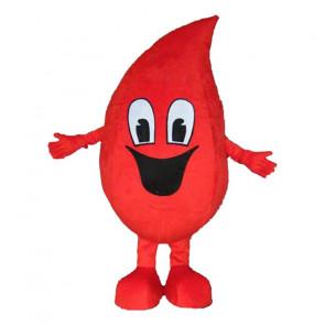Giant Red Waterdrop Water Drop Mascot Costume