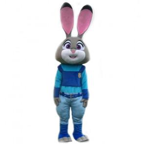 Giant Judy Hopps Zootopia Cosplay Halloween Costume Mascot