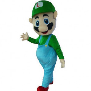 Giant Luigi Mascot Costume
