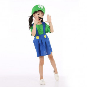 Girls Luigi Costume