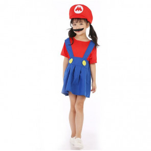 Girls Mario Costume
