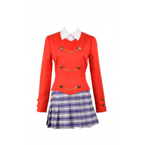 Heather Chandler Heathers The Musical Red Stage Dress Costume Cosplay