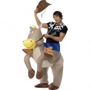 Inflatable Riding Horse Costume