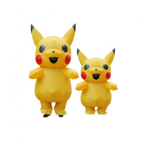 Inflatable Pikachu Costume