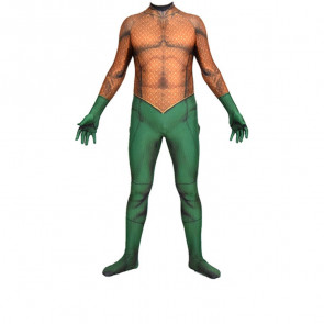 Aquaman Cosplay Costume Lycra