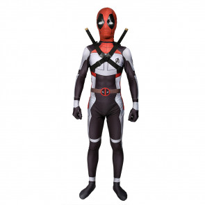 Boys Deadpool Avengers Endgame Suit Cosplay Costume