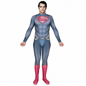 Classic Superman Lycra Cosplay Costume