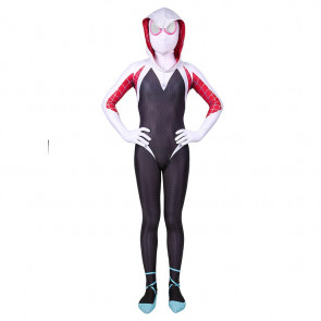 Girls Gwen Stacy Spider-Gwen Costume