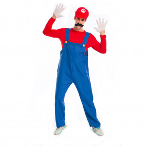 Super Mario Luigi Mario Cosplay Costume For Adults Halloween Costume