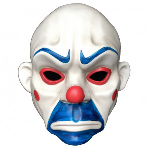 Dark Knight Bank Robber Joker Mask